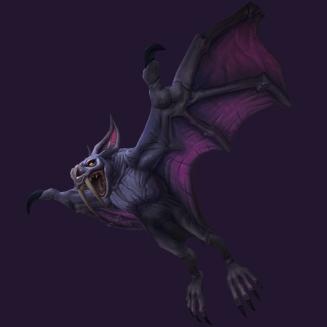 Violettes Fledderschwingenjunges WoW Pet kaufen - World of Warcraft Haustier