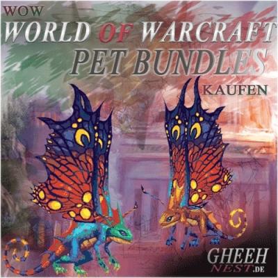 Haustiere Sammlung - World of Warcraft (WoW) kaufen // Gheehnest Shop: Haustiere, Reittiere & TCG