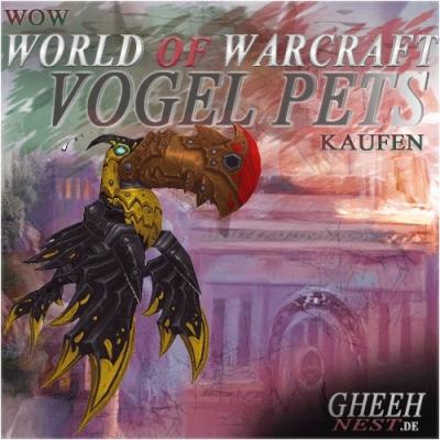 Vögel - World of Warcraft (WoW) kaufen // Gheehnest Shop: Haustiere, Reittiere & TCG
