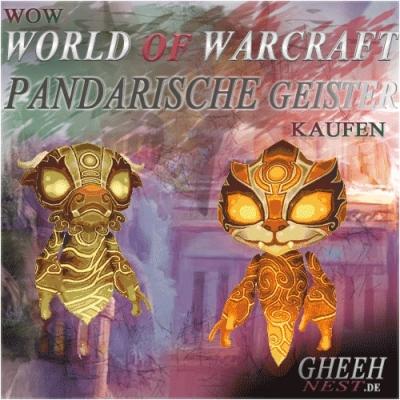 Pandarische Geister - World of Warcraft (WoW) kaufen // Gheehnest Shop: Haustiere, Reittiere & TCG