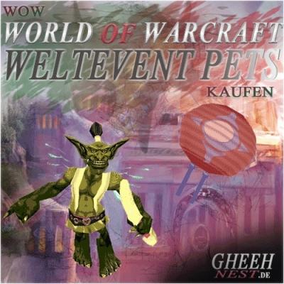 Weltevent - World of Warcraft (WoW) kaufen // Gheehnest Shop: Haustiere, Reittiere & TCG