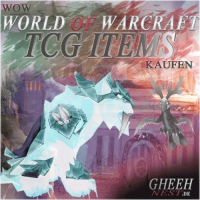 WoW TCG Pets/Mounts kaufen | World of Warcraft TCG Reittier Haustier kaufen - Gheehnest Shop
