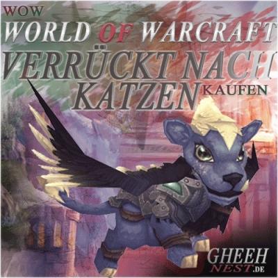 Verrückt nach Katzen - Erfolg - World of Warcraft (WoW) kaufen // Gheehnest Shop: Pets, Reittiere & TCG