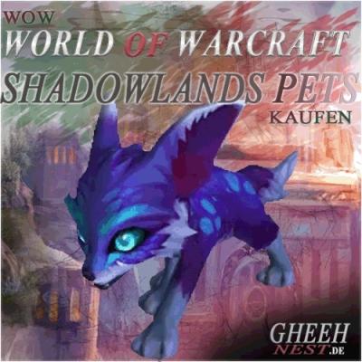 World of Warcraft Shadowlands Pets kaufen - WoW Shattenlande Haustiere // Gheehnest Shop: Reittiere, Items & TCG