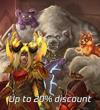 Up to 20% Discount for WoW Mounts & Pets